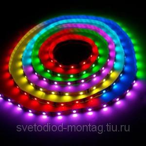 Светодиодные ленты как новогоднее украшение
