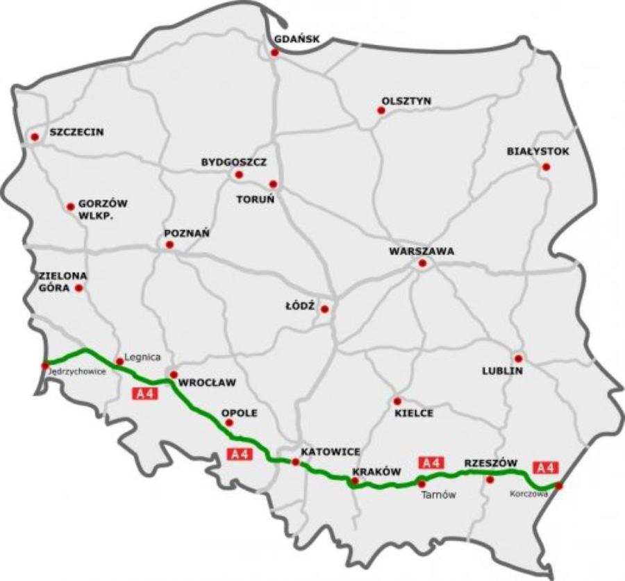 В Польше открыли автостраду, соединяющую Украину и Германию