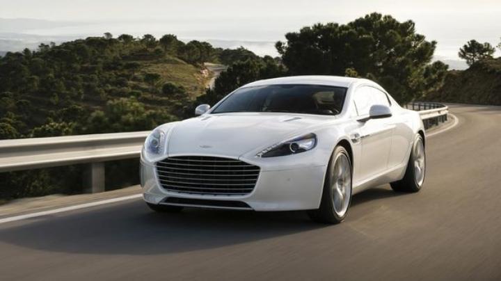В Украине заметили редчайший Aston Martin (фото)