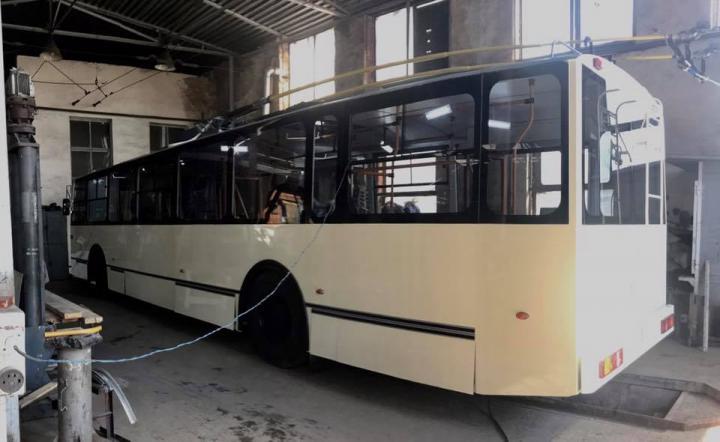 В Житомире испытают троллейбус собственного производства