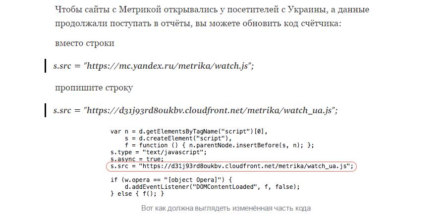 В обход блокировки: в Сети появились рекомендации по использованию сервиса «Яндекс.Метрика» при помощи облака Amazon