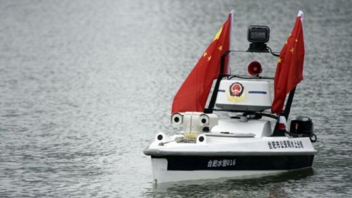 Китай запустил самоуправляемый катер (фото)