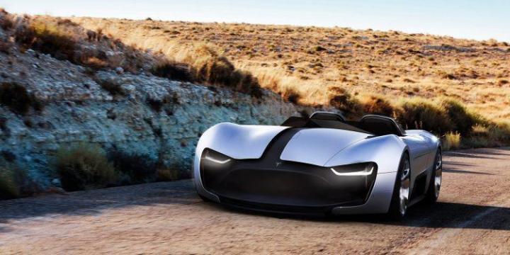 Какой будет новая Tesla Roadster (фото)