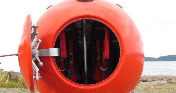 В Сиэтле создали капсулу, способную выдержать удар цунами (Фото)