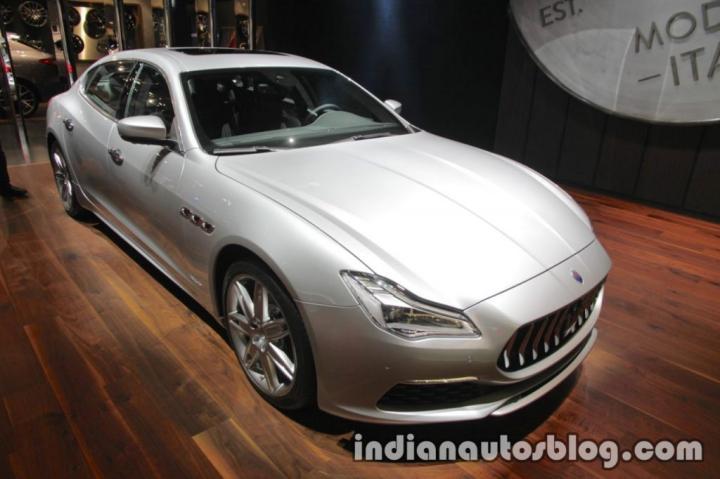 Maserati показал новое поколение высокопроизводительного седана Quattroporte (фото)
