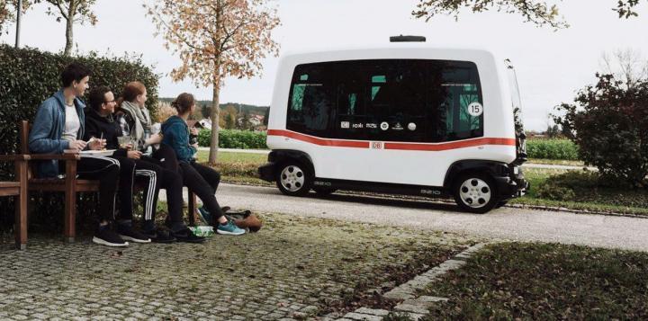 Deutsche Bahn запускает в Баварии беспилотный автобус