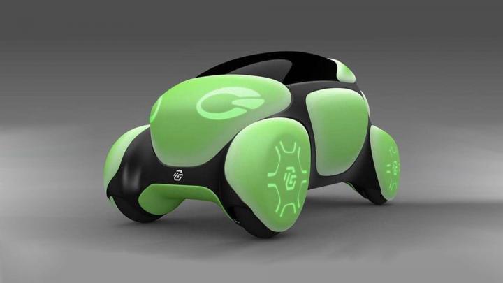 Toyoda собрала резиновый автомобиль (фото)