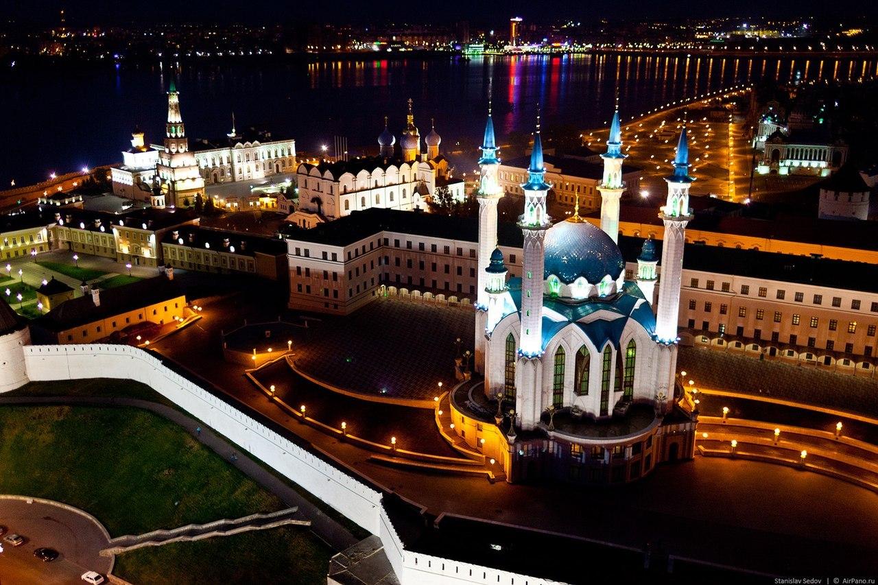 Экскурсии по ночной Казани – незабываемое зрелище