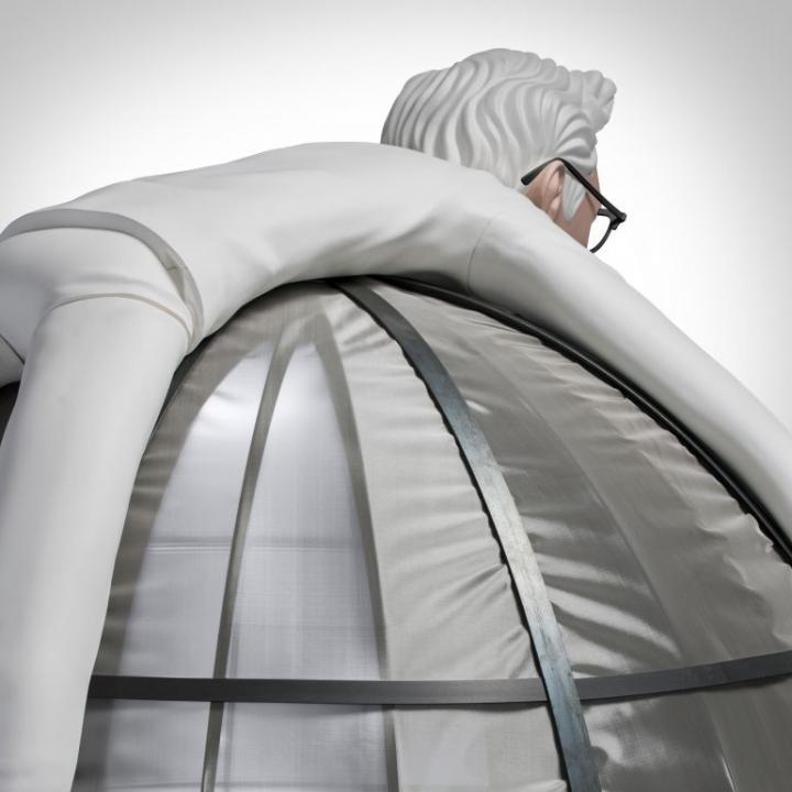 KFC разработала палатку Internet Escape Pod, которая спасает от назойливых звонков и сообщений (фото)
