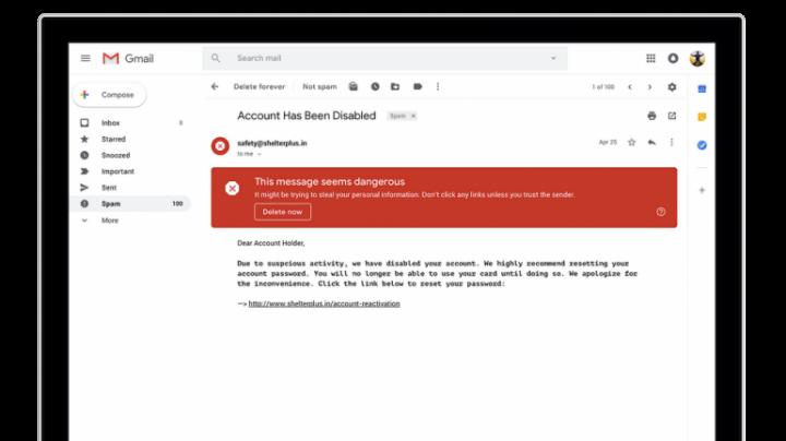 В июле запустят новый дизайн интерфейса Gmail