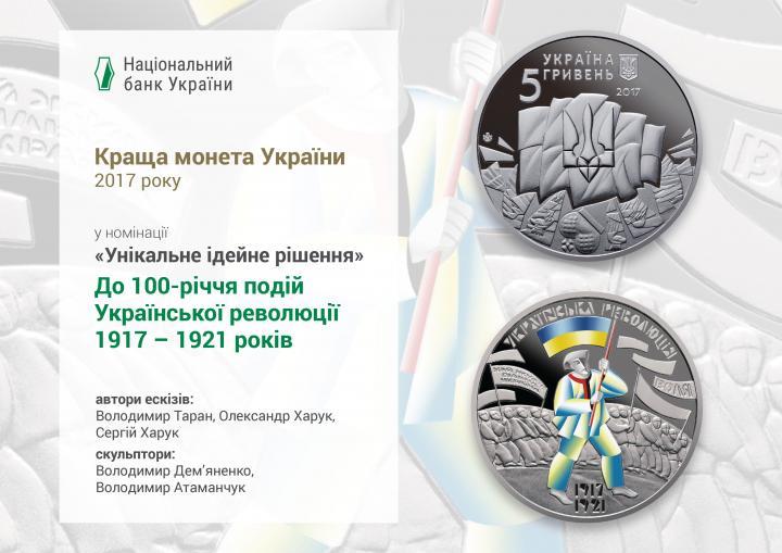 Нацбанк определил лучшие памятные монеты 2017 года (фото)