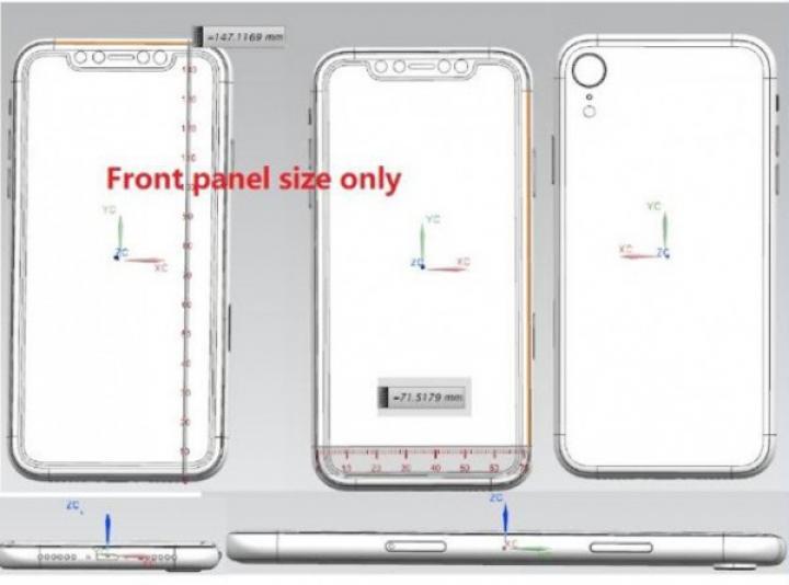 В Сеть слили эскиз нового iPhone с тремя камерами