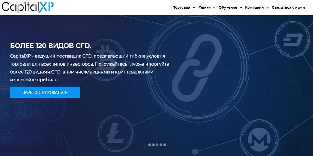Инновационная онлайн торговая платформа Capitalxp