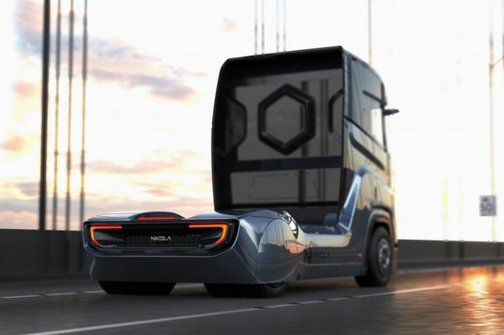 Nikola Motor представила свой третий водородно-электрический грузовик Nikola Tre (фото)