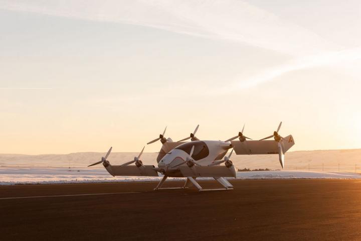 Airbus показал летающее беспилотное такси Vahana (фото)