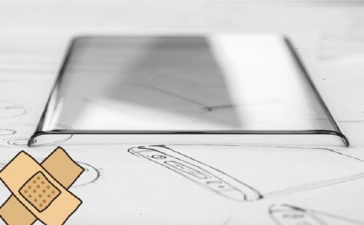 Vivo показала эскизы смартфона с изогнутым дисплеем