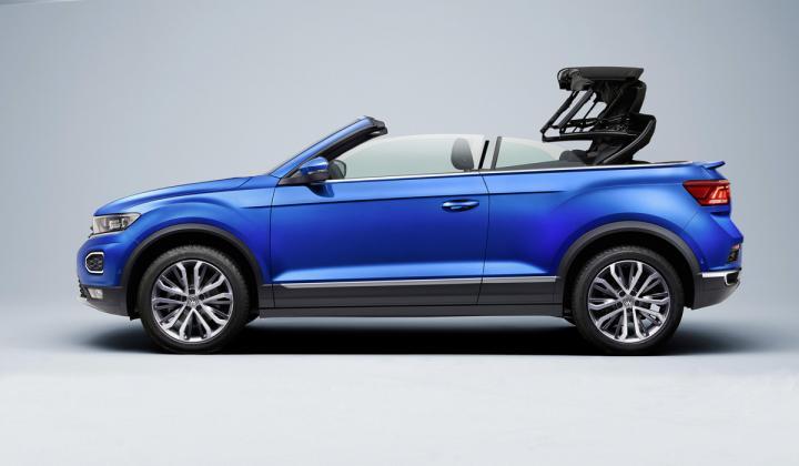 Volkswagen выпустит кабриолет на базе кроссовера T-Roc