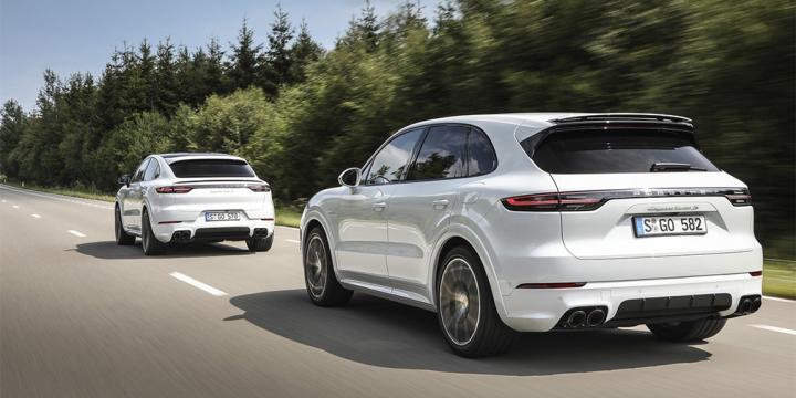 Porsche презентовала гибридный Cayenne (фото)