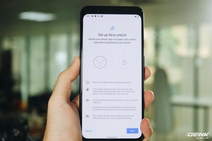 Как будет выглядеть разблокировка по лицу в новом смартфоне Google Pixel 4 XL (фото)