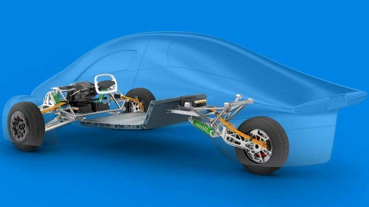 Американцы создают суперэффективный электромобиль-дальнобойщик (фото)