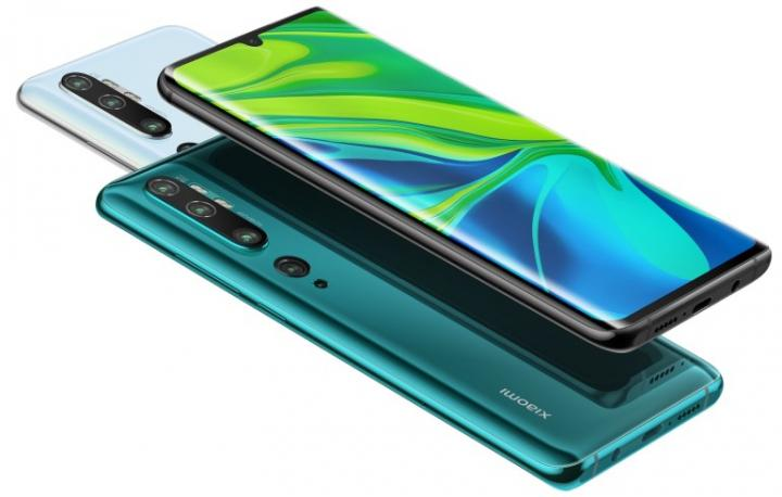 Xiaomi показала смартфон с пентакамерой (фото)
