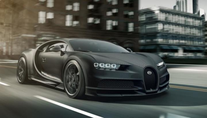 Bugatti представила спецверсию гиперкара Chiron (фото)