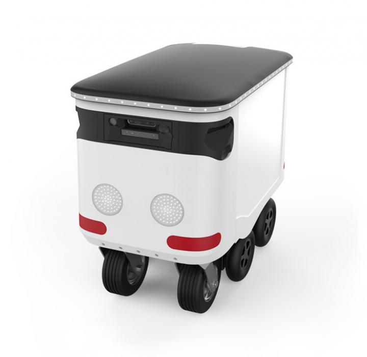 Инженеры Google запустили стартап робота доставки (фото)