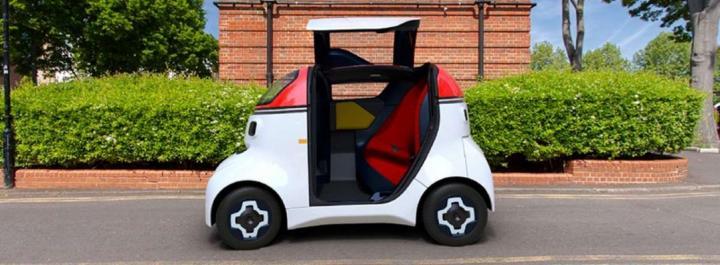 Беспилотник Motiv: городской автомобиль будущего