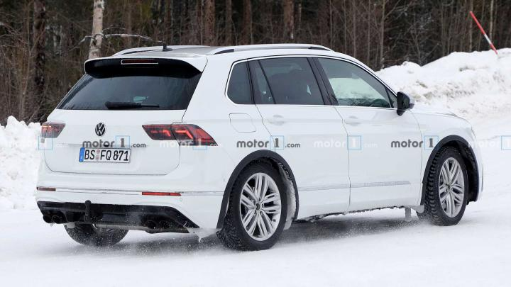 VW Tiguan R уже готов к дебюту (фото)