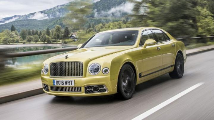 Bentley будет выпускать новый кроссовер вместо седана Mulsanne
