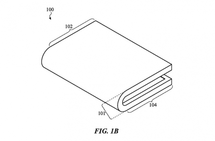 Apple запатентовала конкурента Samsung Galaxy Fold (фото)