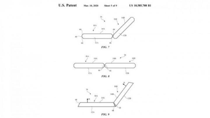 Аpple запатентовала смартфон с двумя экранами (фото)