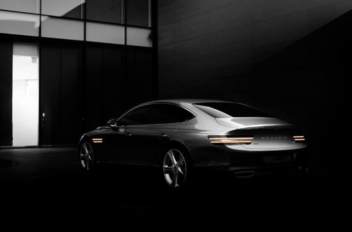 Появились первые фотографии нового Genesis G80 (фото)