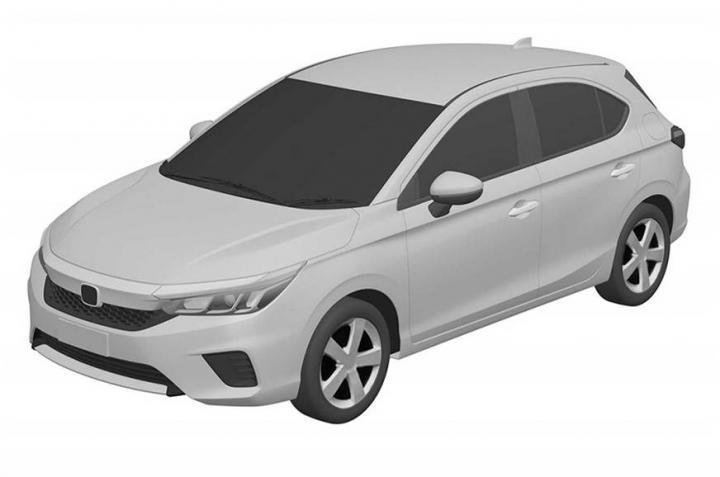 Новый хэтчбек Honda City может стать глобальной моделью (фото)