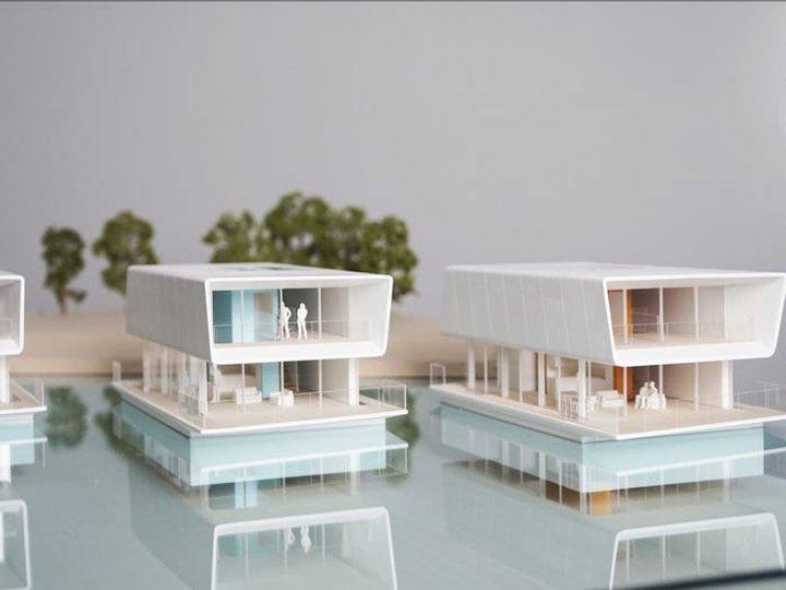 Как конструктор: Голландская компания будет строить плавучие экодома (фото)