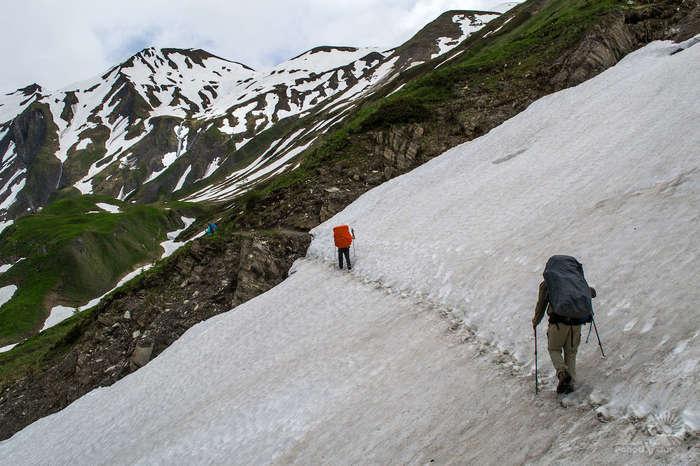 Увлекательный поход в Альпы